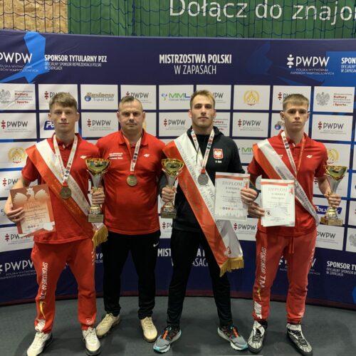 Zapaśnicy na medal